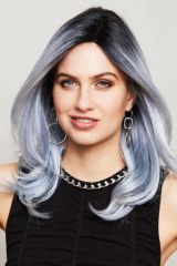Mono part-Wig, Brand: Gisela Mayer, Line: hair to go, Wigs-Model: Fashion Blue