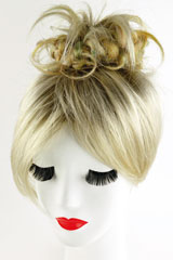 Trame-Touffe, Marque: Gisela Mayer, Ligne: hair to go, Touffe-Modele: Funky Scrunchie