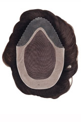 human hair-Weft-Wig, Brand: Gisela Mayer, Line: Men Line, Wigs-Model: Universal Large EH