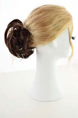 Trame-Touffe, Marque: Gisela Mayer, Ligne: hair to go, Touffe-Modele: Brandy Scrunchie