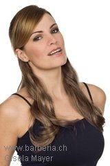 Trame-Touffe, Marque: Gisela Mayer, Ligne: hair to go, Touffe-Modele: New HBT Set Wavy