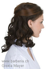 Postiche, Marque: Gisela Mayer, Modèle: New Put In Curly EH